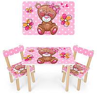 """Детский стол со стульчиком """"Мишка"""", фото 1"""