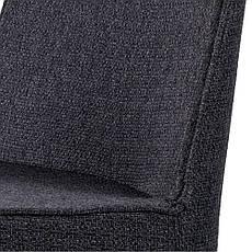 Hardy (Харди) регулируемый барный стул текстиль серый графит, фото 2