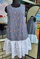 Жіноче плаття з рюшами, фото 1