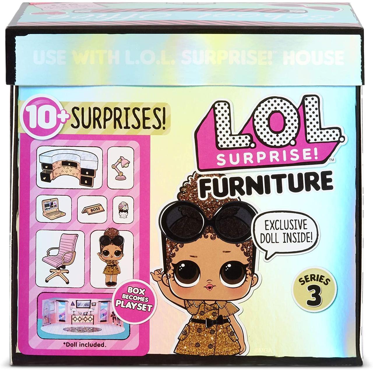 Мебель для куклы ЛОЛ Сюрприз Кабинет Леди-Босс - LOL Surprise Furniture Boss Queen 570042