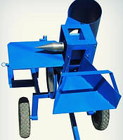 Измельчитель веток для мотоблока + дровокол с конусом 65 мм
