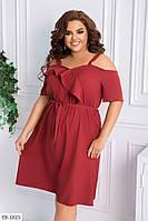 Женское платье летнее большие размеры / батал