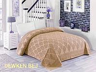Махрове простирадло бавовна 150*220 (TM Zeron) 450г/м2 Dewken Bej, Туреччина
