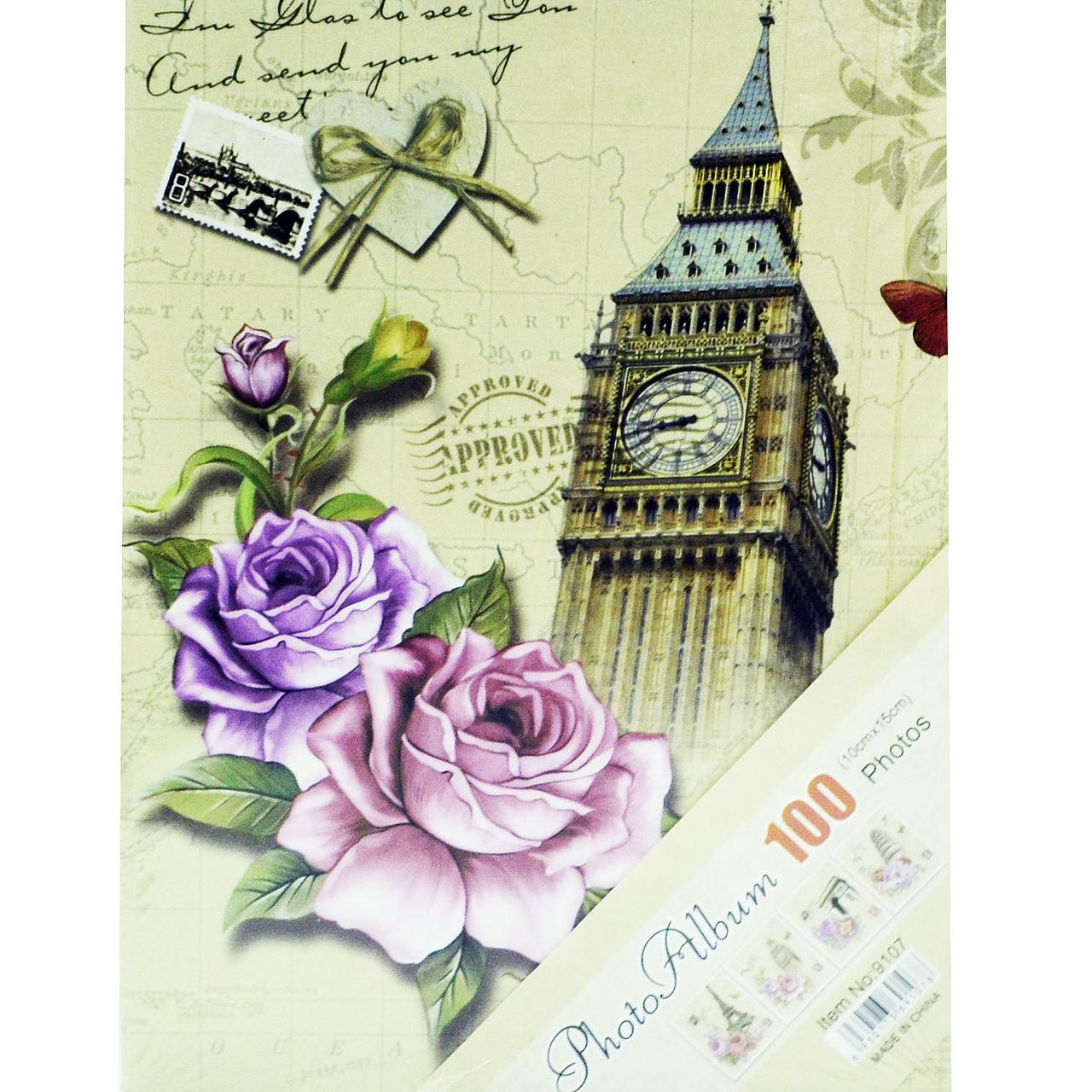"""Фотоальбом""""Башня Big Ben"""" (альбом для фотографий) 100/10Х15см"""
