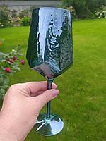"Бокал для вина ""Зеркальная бирюза"", 450 мл, 374025-1"
