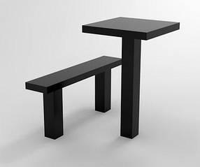Комплект стіл і лавка з граніту на могилу 001