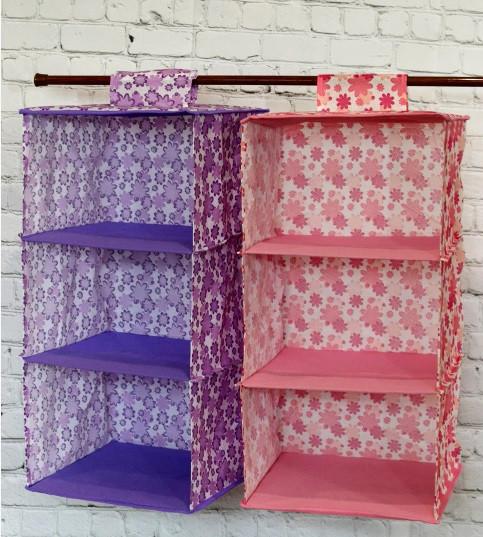 Подвесные полки (модуль в шкаф) для хранения вещей (Чехол для одежды)