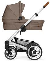 Классическая коляска для новорожденных Mutsy Nio Adventure Dune Grey (шасси Cognac Standard)