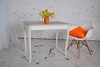 Стол Тавол Классик с фигурными деревянными ногами 93 см х 60см х 75 см Ясень, фото 1