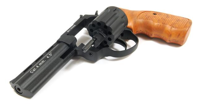 револьвер флобера stalker 4.5 wood