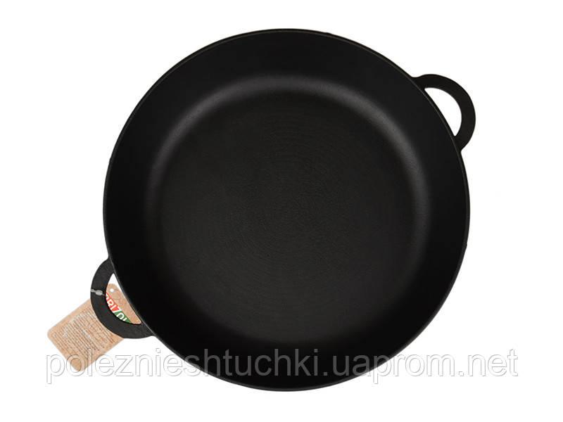 Сковорода 26х6 см чугунная МОНОЛИТ, BRIZOLL