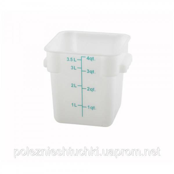 Контейнер для хранения 3,8л, полипропилен
