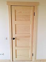 Двери деревянные межкомнатные скандинавский стиль (под лак)