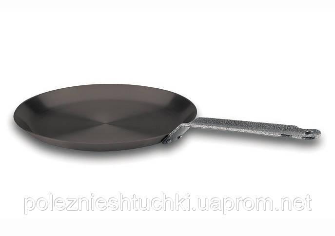 Сковорода Lacor для блинов с антипригарным покрытием 22х1,8 см. нержавеющая сталь (23323)