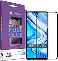 Защитное стекло MakeFuture Full Cover Full Glue Xiaomi Redmi Note 9 Pro Black (MGF-XRN9P)