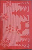Коврик для сервировки стола красно- белого цвета 450х300 мм (шт)