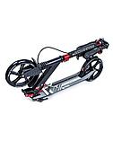 Двоколісний Самокат Scale Sports SS-08. Black. Ручне гальмо! Led-ліхтарик!, фото 3