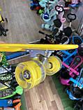 Скейт Penny Board, с широкими колесами Пенни борд, детский , от 5 лет расцветка Бананы, фото 5