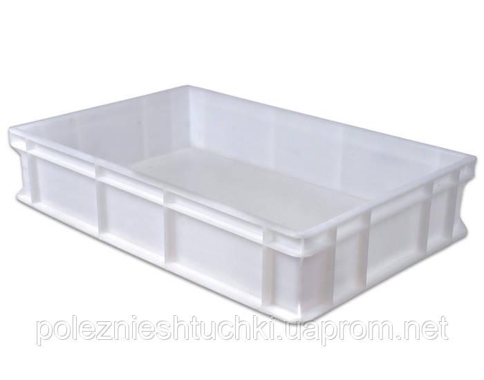 Емкость для хранения теста 60х40х13 см. без крышки, полипропиленовая FoREST