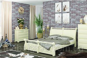 Деревянная двухспальная кровать 140 Сицилия тм Mebigrand