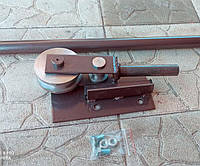 Домашний трубогиб малых радиусов под 90 и 180 градусов для профильной трубы 20х20.