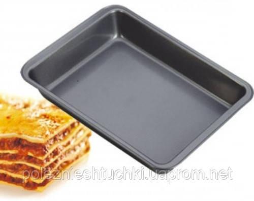 Форма для выпечки 42х28,5х5,5 см. прямоугольная с антипригарным покрытием