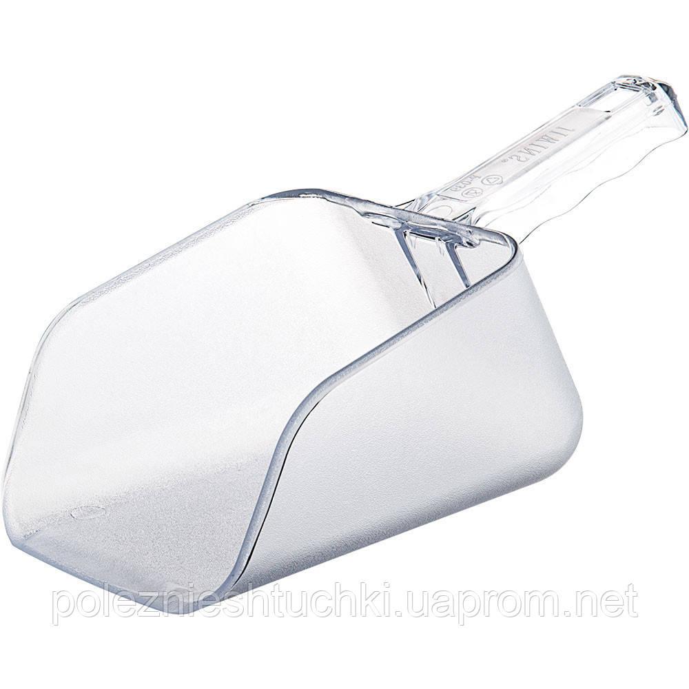 Совок для сыпучих и льда 1 л. из поликарбоната Stalgast