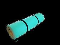 Каремат, коврик туристический, двухслойный для фитнеса, спортзала, похода и игр 1800х600х12 мм