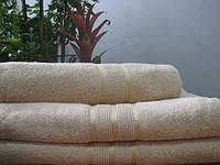 Махровое полотенце 50х90, 100% хлопок 420 гр/м2, Пакистан, Капучино
