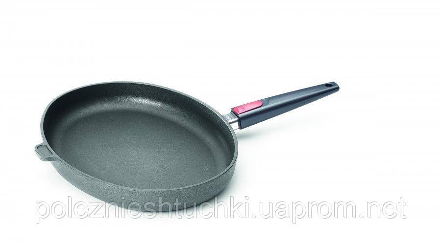 Сковорода WOLL овальная 38*28,4 см Nowo Titanium (W1538N)