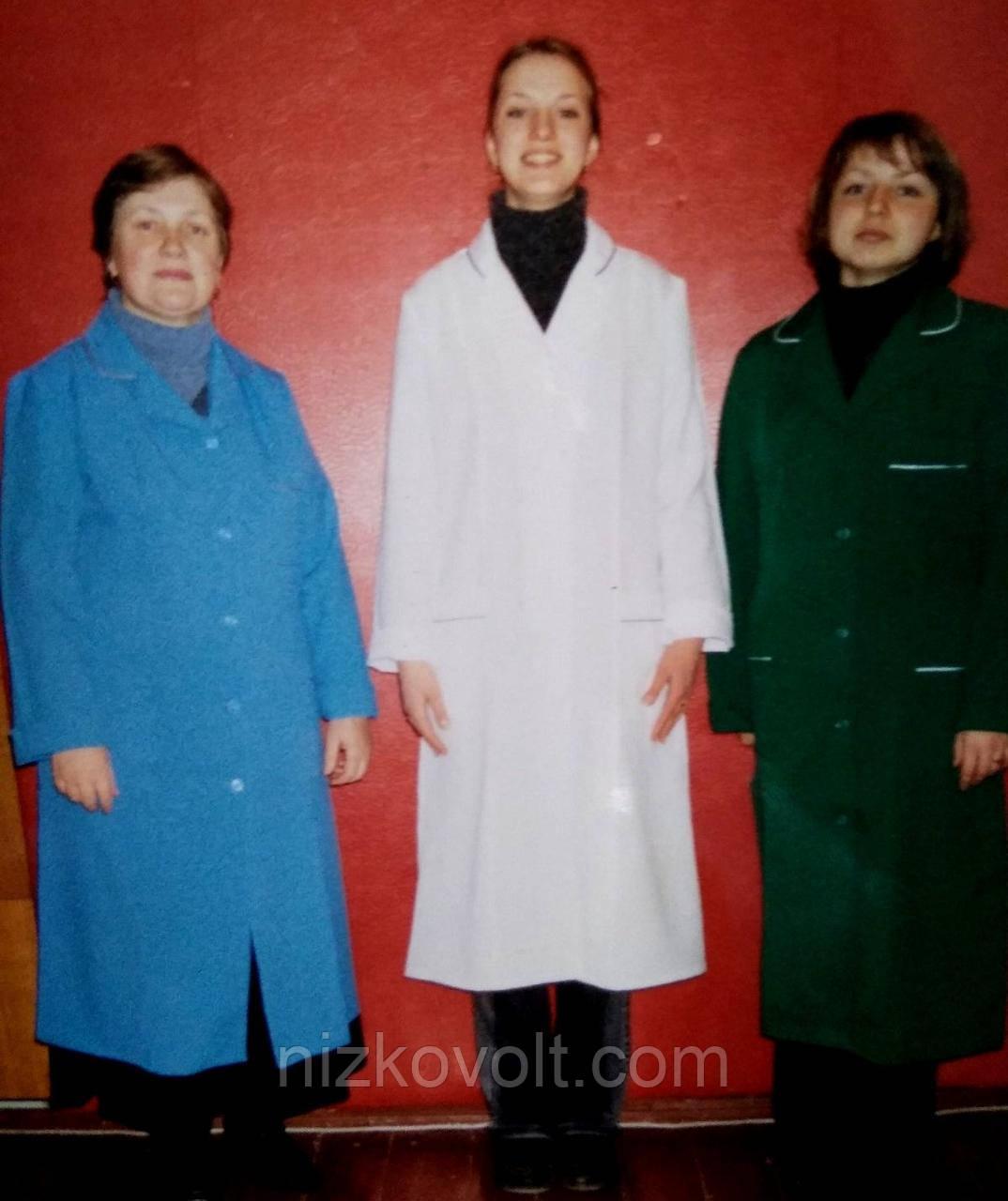 Жіночий халат медичний