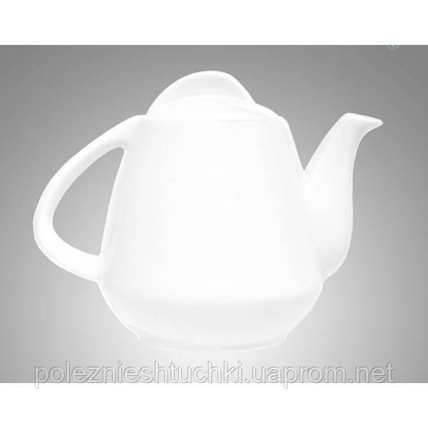 Чайник заварочный фарфоровый 900 мл. белый Farn