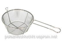 Корзина для фритюра 9,5 л 28,5 см. нержавеющая сталь Winco (Ковш 10132)