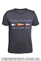 Футболка мужская PAUL & SHARK 20-3021 тёмно-синяя, фото 1