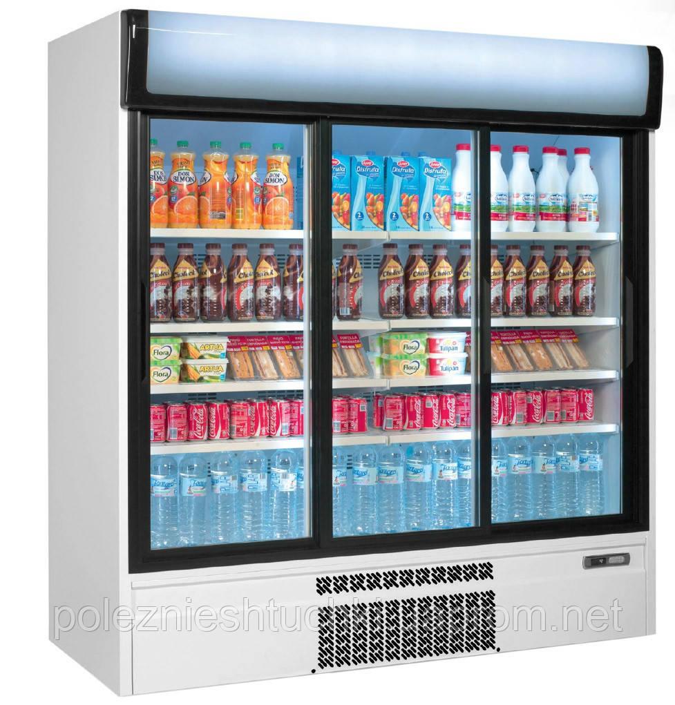 Холодильник для напитков 1600 литров - с 3 дверями GKI1600