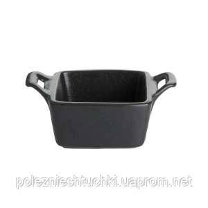 Блюдо для запекания 10 см. фарфоровое, черноеPorland Seasons Black