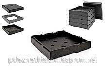 Дно или крышка Single Pizza System разм. 410х410х85 мм PLB-500
