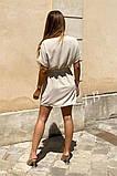 Легкое летнее платье для девушек на пуговицах по всей длине р.42-44, 46-48 код 803L, фото 4