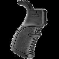 Прорезиненная пистолетная рукоятка Fab Defense AGR43B для M16/M4/AR-15, AGR-43B, ЧЕРНАЯ
