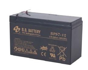 Аккумуляторы B.B.Battery BP7.2-12 FR/T2
