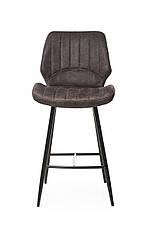 Барный стул В-19 (Коричневый, Нубук), фото 3