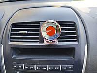 Ароматизатор автомобильный гелевый Aroma Red Night. Пахучка для авто на решетку вентиляции, на диффузор