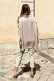 Костюм женский летний двойка брюки+блуза, разные цвета р.42-44,46-48 Код 801L, фото 9