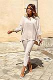 Костюм женский летний двойка брюки+блуза, разные цвета р.42-44,46-48 Код 801L, фото 6
