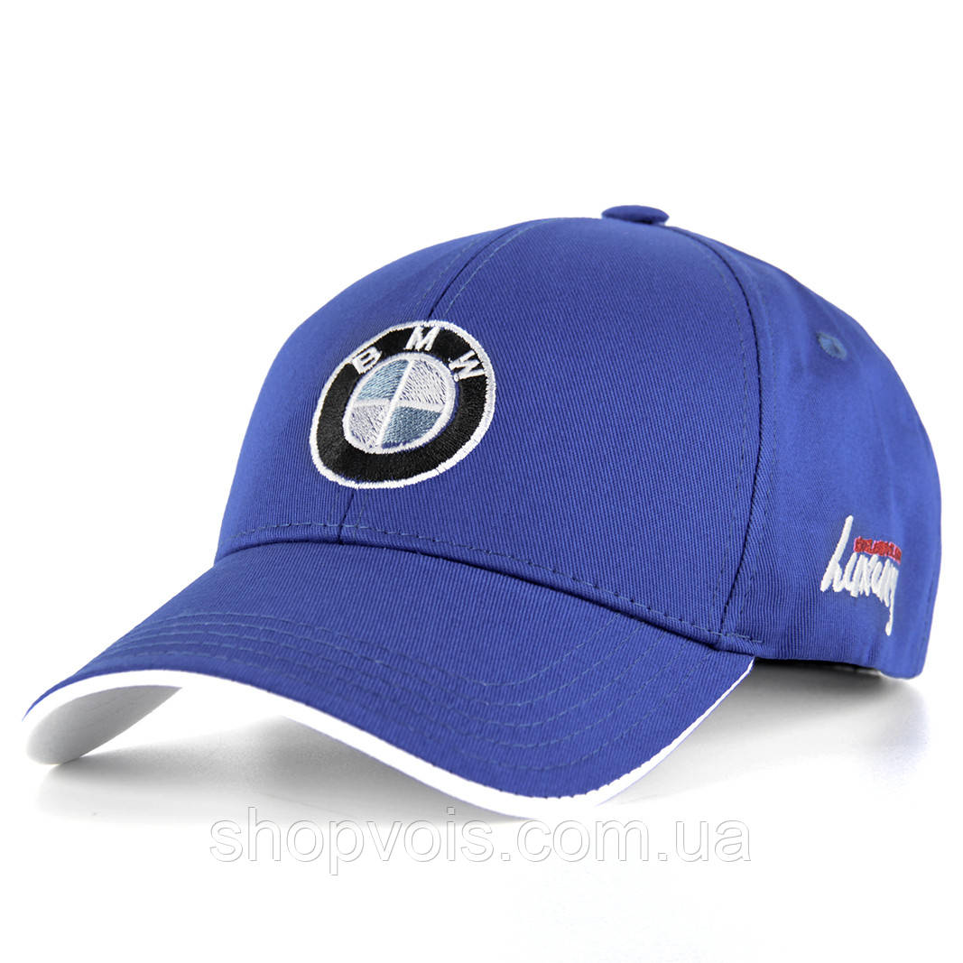 Кепка BMW А201 Бейсболка Синяя