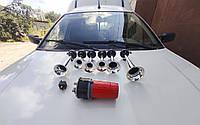 Автомобильный звуковой сигнал, гудок, клаксон, 6 тональностей 12 вольт