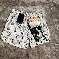 Мужские шорты в стиле Philipp Plein пляжные шорты