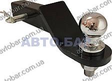 Фаркоп под квадрат Infiniti QX80 (c 2010--) америкаская вставка. 50х50 мм