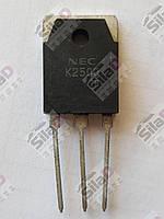 Транзистор 2SK2500 K2500 NEC корпус TO3P