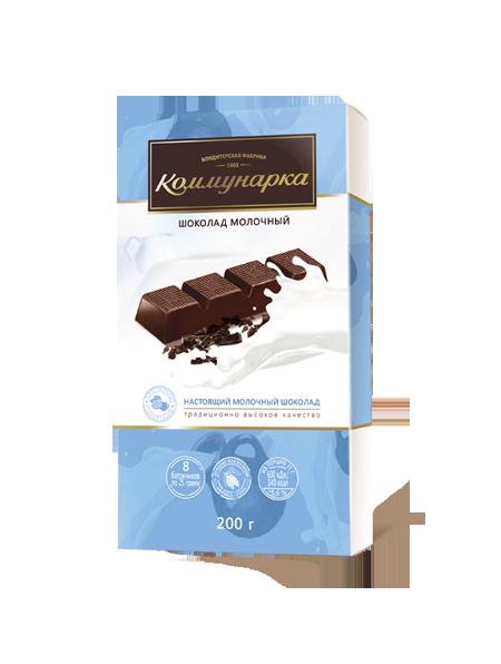 Белорусский шоколад молочный 200г